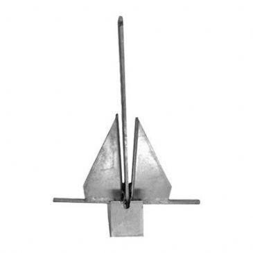 Galvanized Crown Stock Anchor 20kg
